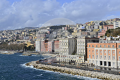 Naples in January after the rain.