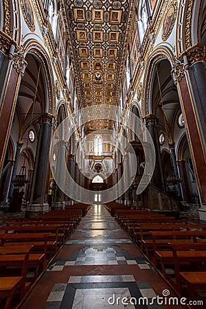 Naples, san domenico maggiore church