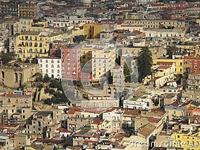 Naples urban landscape