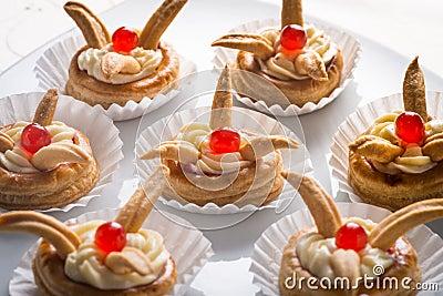 Napoleon cakes