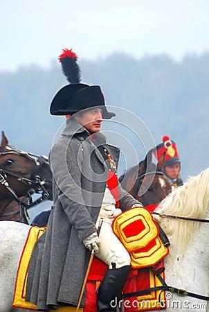 Free Napoleon Riding A Horse At Historical Reenactment Stock Photos - 28309043