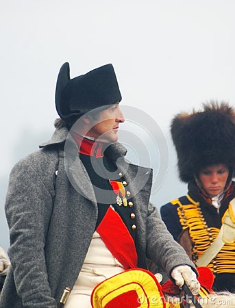 Free Napoleon Riding A Horse At Historical Reenactment Stock Photos - 28389733