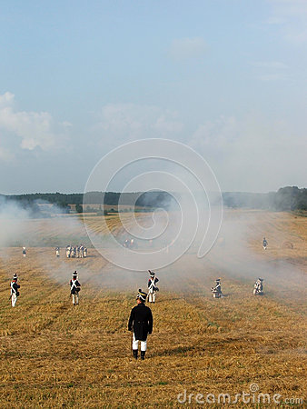 Napoleonic soldier Editorial Stock Image