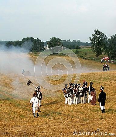 Napoleonic soldier Editorial Image