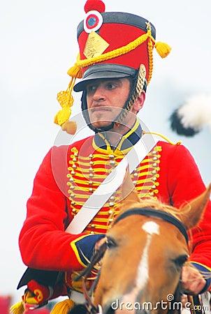 Free Napoleonic War Soldier - Reenactor Stock Image - 32761901