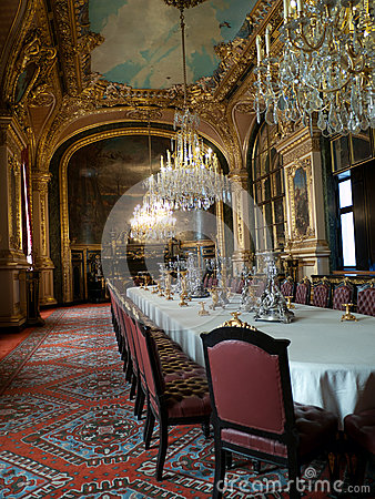 Napoleons chambers in Louvre Paris Editorial Image