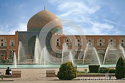 Naqsh-i Jahan Square in Isfahan, Iran