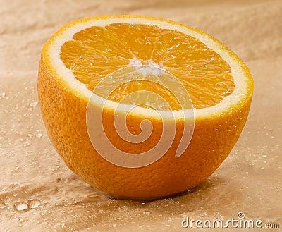 Naranja mojada