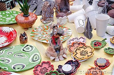 Nariz hecha a mano de cerámica linda del humo de los alces del incensario