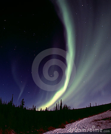 Free Narrow Aurora Arc Stock Photo - 400390