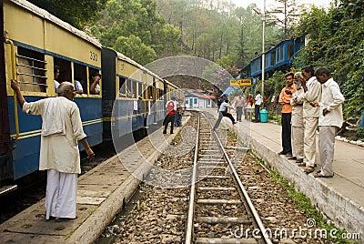 Narrow Gauge railway Editorial Photography