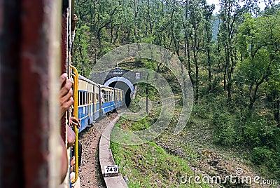 Narrow Gauge railway Editorial Photo
