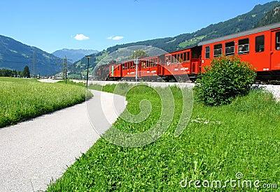Narrow-gauge railway in Austria