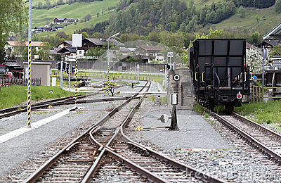 Narrow gauge station