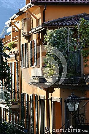 Narrow Lane in Italy