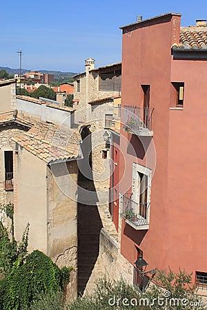 Narrow street in Girona