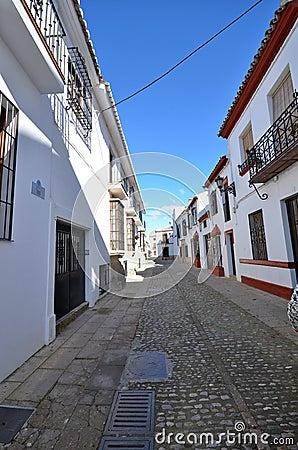 Narrow street Ronda Spain