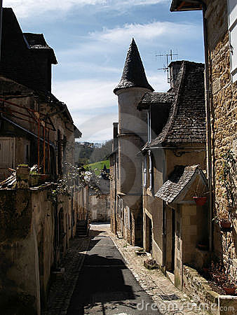 Narrow streets of Turenne
