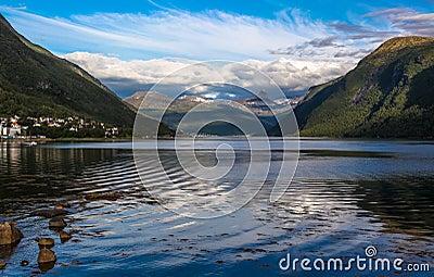 Narvik Fjord - Ofotfjord. Norway