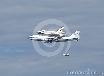 Nasa Discovery Shuttle Editorial Stock Photo