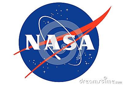 Nasa Logo Editorial Stock Photo