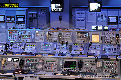 NASA s Control Station Editorial Image