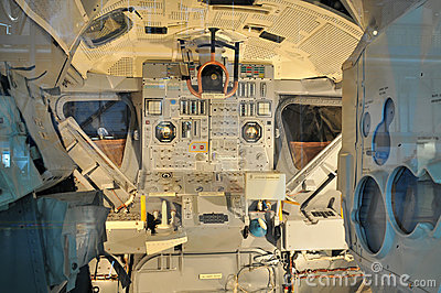NASA s Space Shuttle Cockpit Editorial Photo