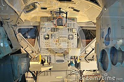 NASA s Space Shuttle Cockpit Editorial Photo