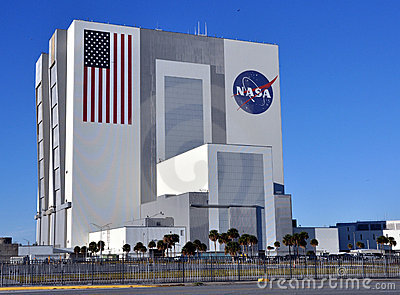 NASA s Vehicle Assembly Building (VAB) Editorial Photography