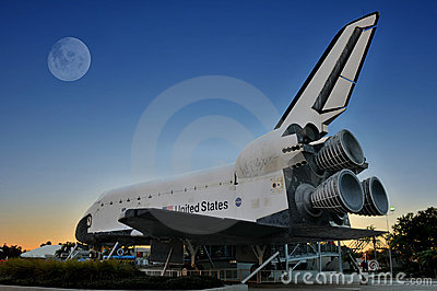 NASA Space Shuttle Explorer Editorial Photography