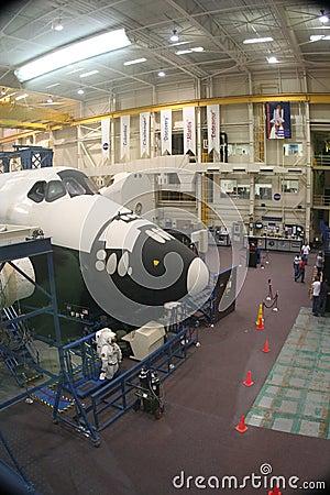 NASA Training Facility Editorial Stock Photo