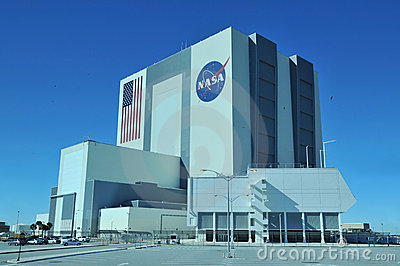 NASA Vehicle Assembly Building Editorial Stock Image