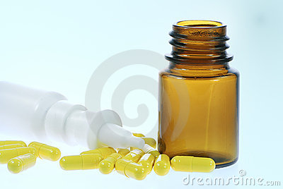 Nasal spray and capsules