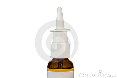 Nasal spray container