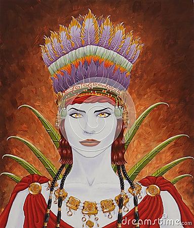 Nasca Woman