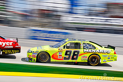 NASCAR 10 - #98 Paul Menard Editorial Stock Photo