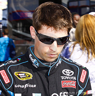 NASCAR - #11 Hamlin at the Coca Cola 600 Editorial Stock Image
