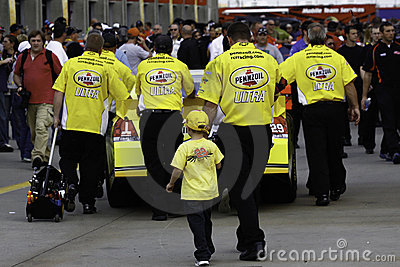 NASCAR 2010 All Star Race - A Family Affair Editorial Stock Photo