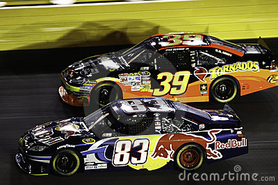 NASCAR - 2010 All Stars Side by Side! Editorial Stock Photo
