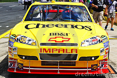 NASCAR - 2010 Coca Cola 600 - #33 Cheerios Chevy Editorial Stock Image