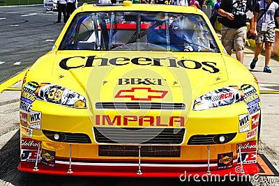 NASCAR - 2010 Coca Cola 600 - #33 Cheerios Chevy Editorial Stock Image