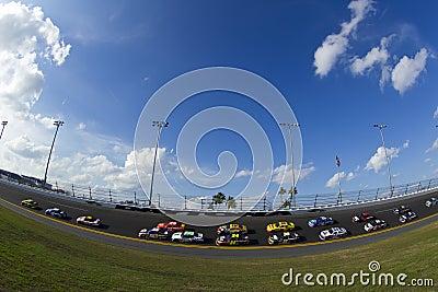 NASCAR 2012: Gatorade Duel 2 Feb 23 Editorial Image