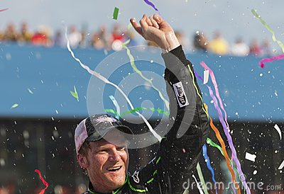 NASCAR 2012:  Sprint Cup Quicken Loans 400 Editorial Image