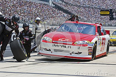NASCAR 2012:  Sprint Cup Series FedEx 400 Editorial Photo