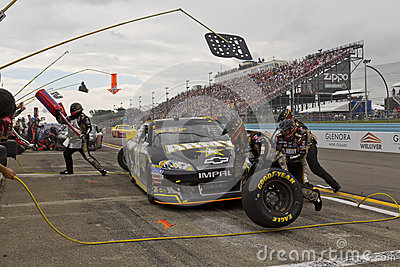 NASCAR 2012:  Sprint Cup Series Finger Lakes 355 Editorial Photo