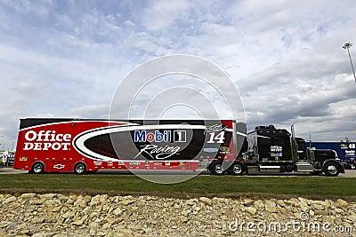 NASCAR 2012:  Sprint Cup Series STP 400 APR 19 Editorial Stock Image