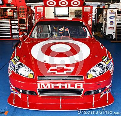 NASCAR - #42 Montoya s Target Chevy Editorial Stock Image
