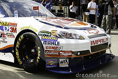 NASCAR - All Star Stewart s Burger King Chevy Editorial Stock Photo