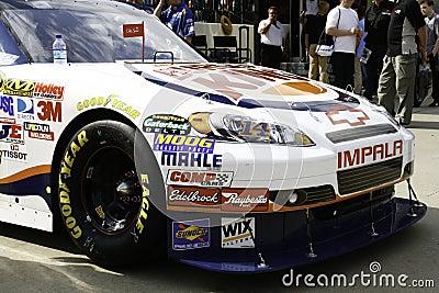 NASCAR - All Star Stewart s Burger King Chevy Editorial Stock Photo