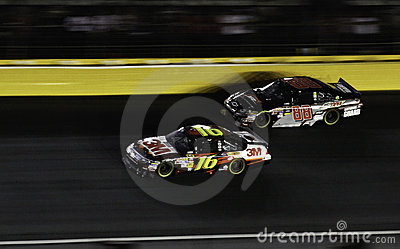 NASCAR - All Stars Biffle, Earnhardt Jr Editorial Image